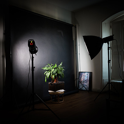 image d'un studio photo à Poitiers