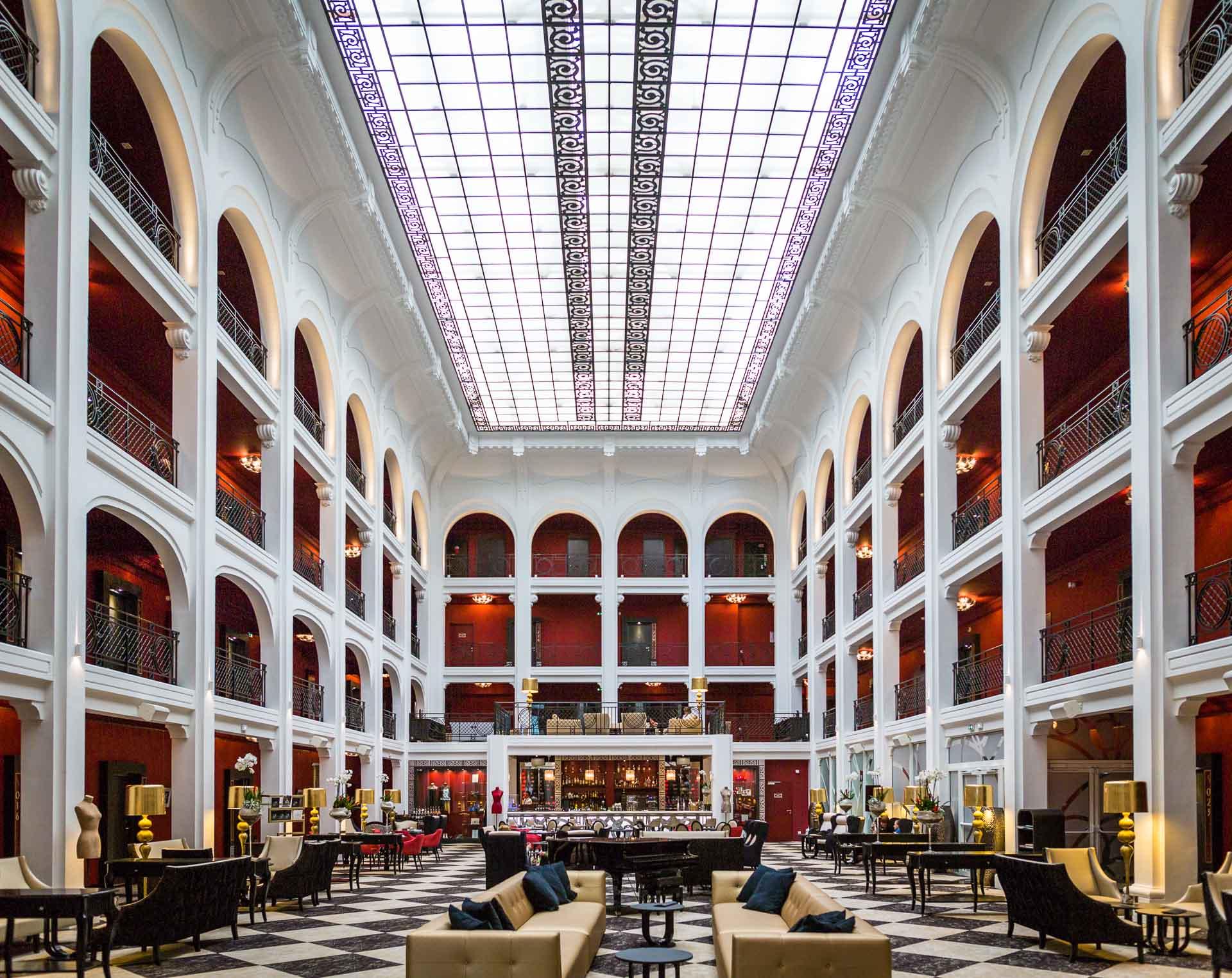 Hotel Regina Weekend blog trip Newshoot hoverboard