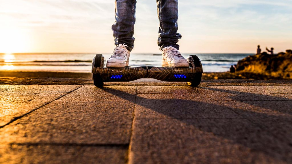 Weekend blog trip Newshoot hoverboard