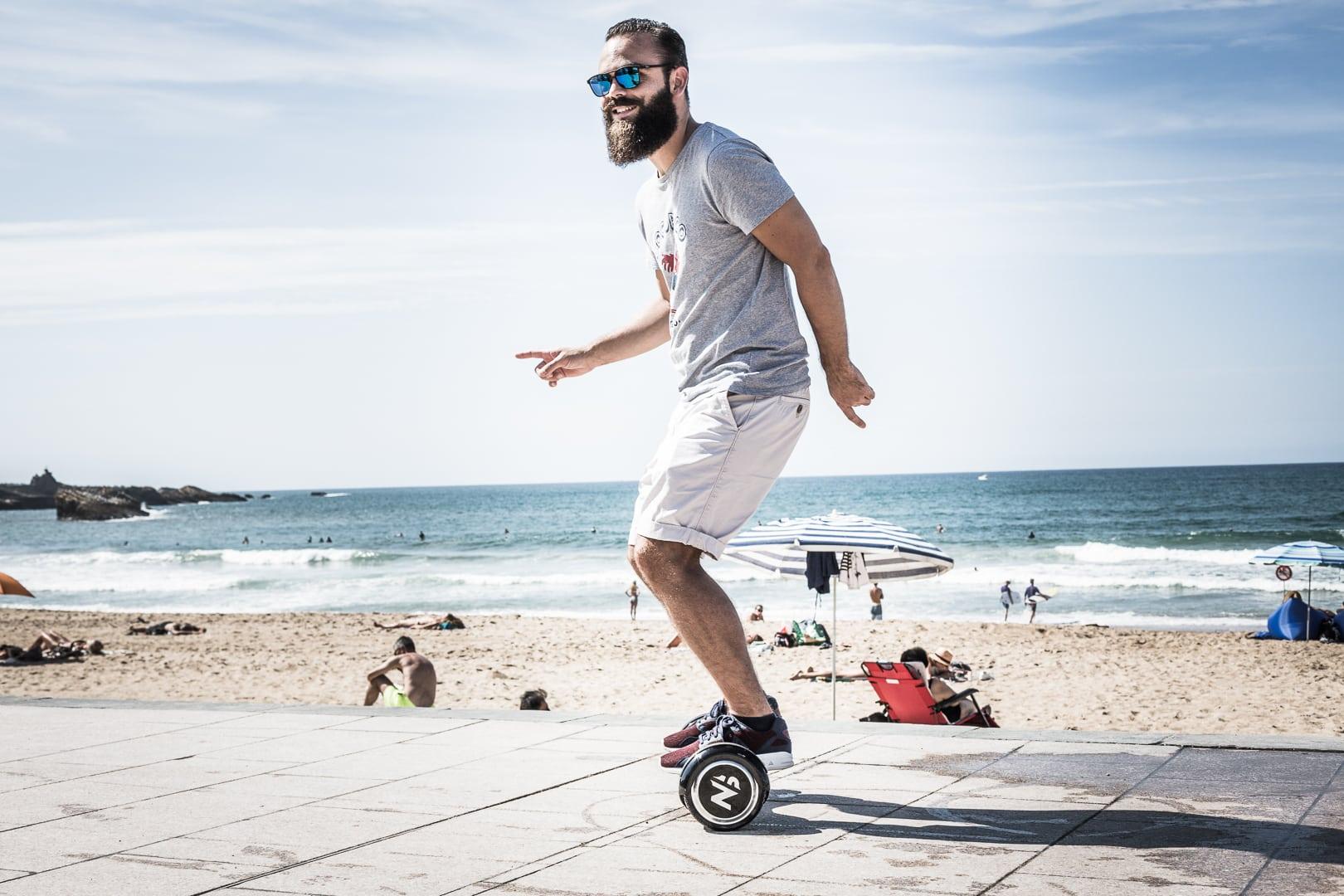 Weekend blogtrip Newshoot hoverboard