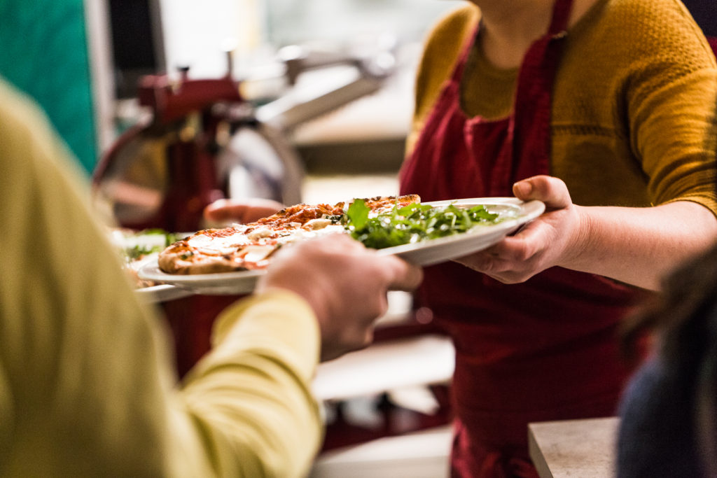 serveurs pizza