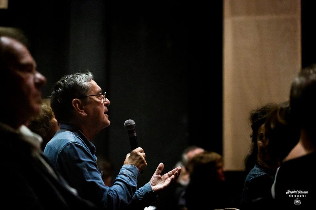 Reportage photo événement ASTRE - échange pendant conférence
