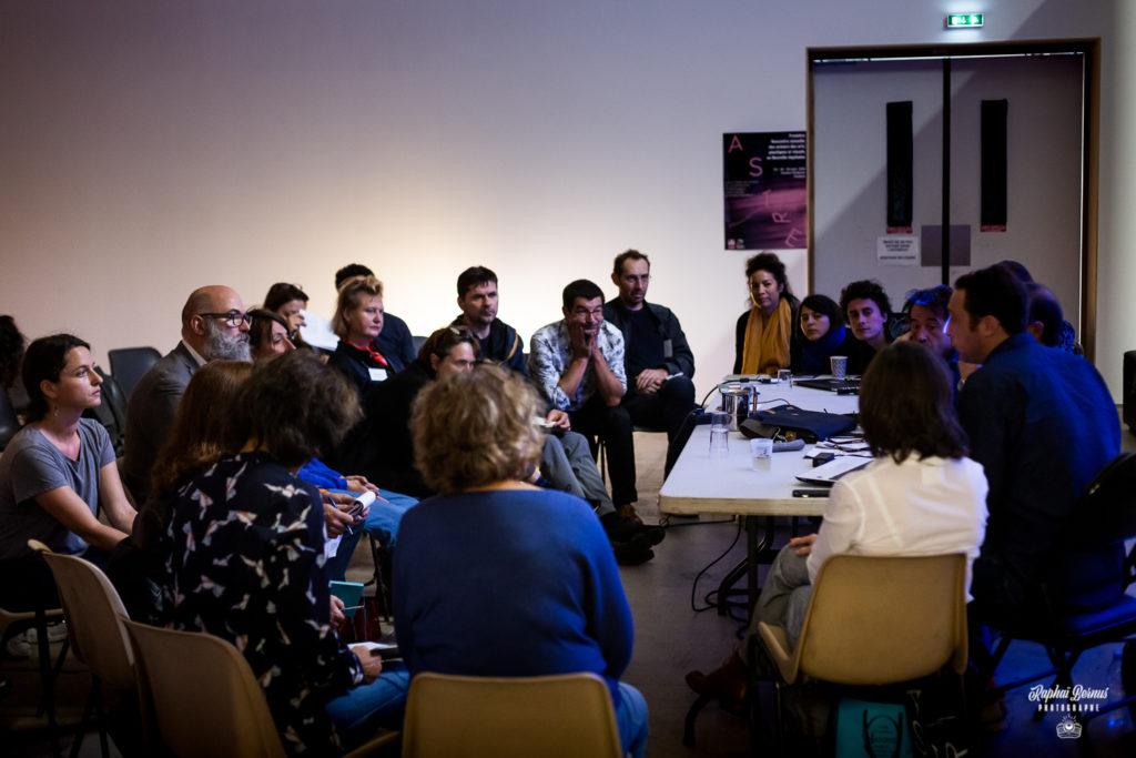 Reportage photo événement ASTRE - table ronde